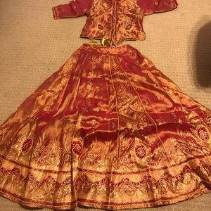 Indian Sari 2 piece